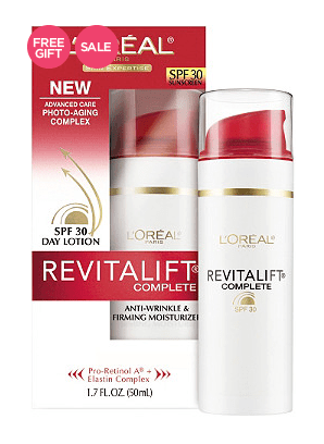 l'oreal revitalift complete spf 30 day lotion