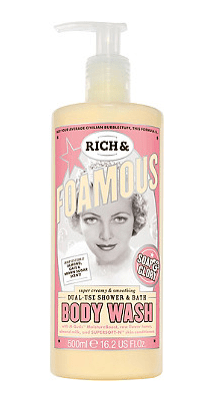 soap and glory rich and foamous body wash