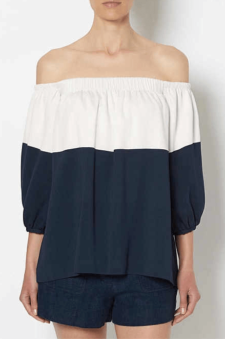 Witchery two tone off the shoulder