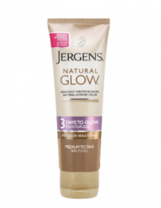 Jergens Natural Glow 3 days to glow