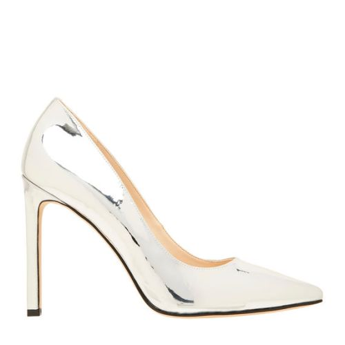 Nine West Tatiana Silver Mirror pump