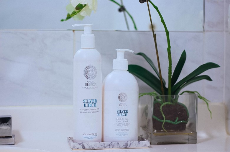 Natura Siberica Silver Birch Hand wash and shower gel