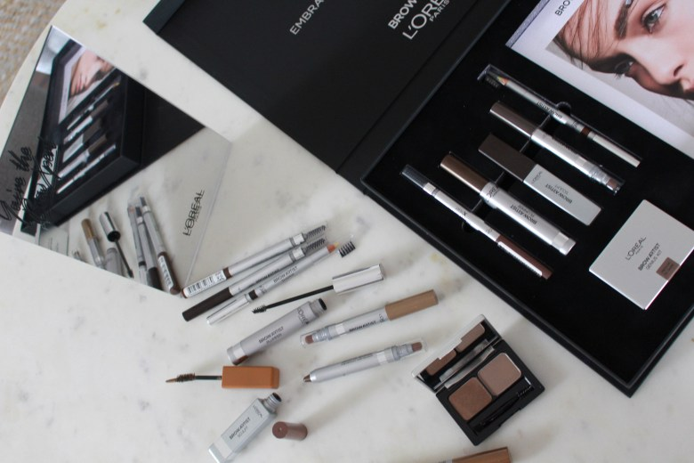 loreal brow products