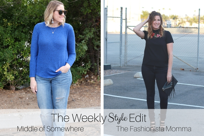 The Monthly Style Edit linkup.
