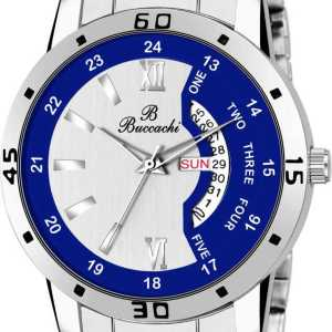 B-G504 Day and Date Buccachi Analog Men's Watch-1