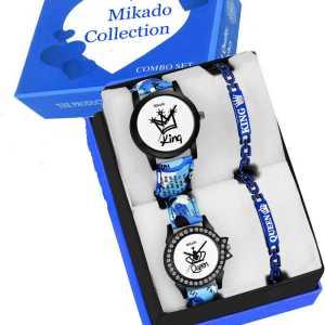 Mikado Combo Couple Analogue Watch