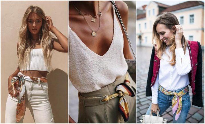 Inspiração: CINCO jeitos de usar lenço - Fashionistando