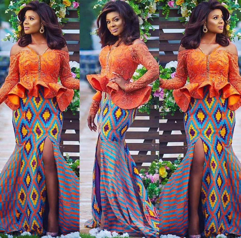 Top 2019-2020 Kente Styles For Ghanaian Bride - fashionist now