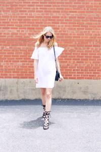 WHITE OFF THE SHOULDER DRESS   Fashion Jackson