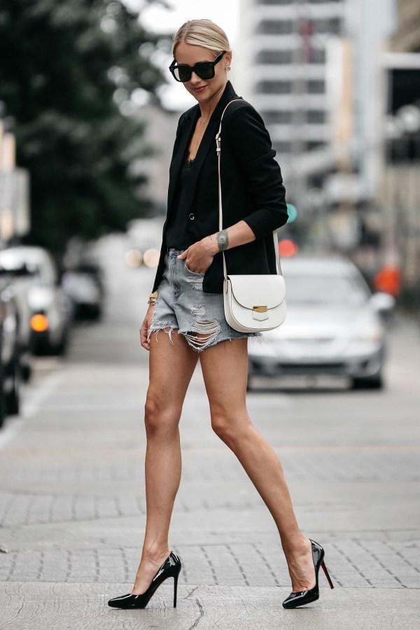 Edgy Black Blazer Outfit Fashion Jackson