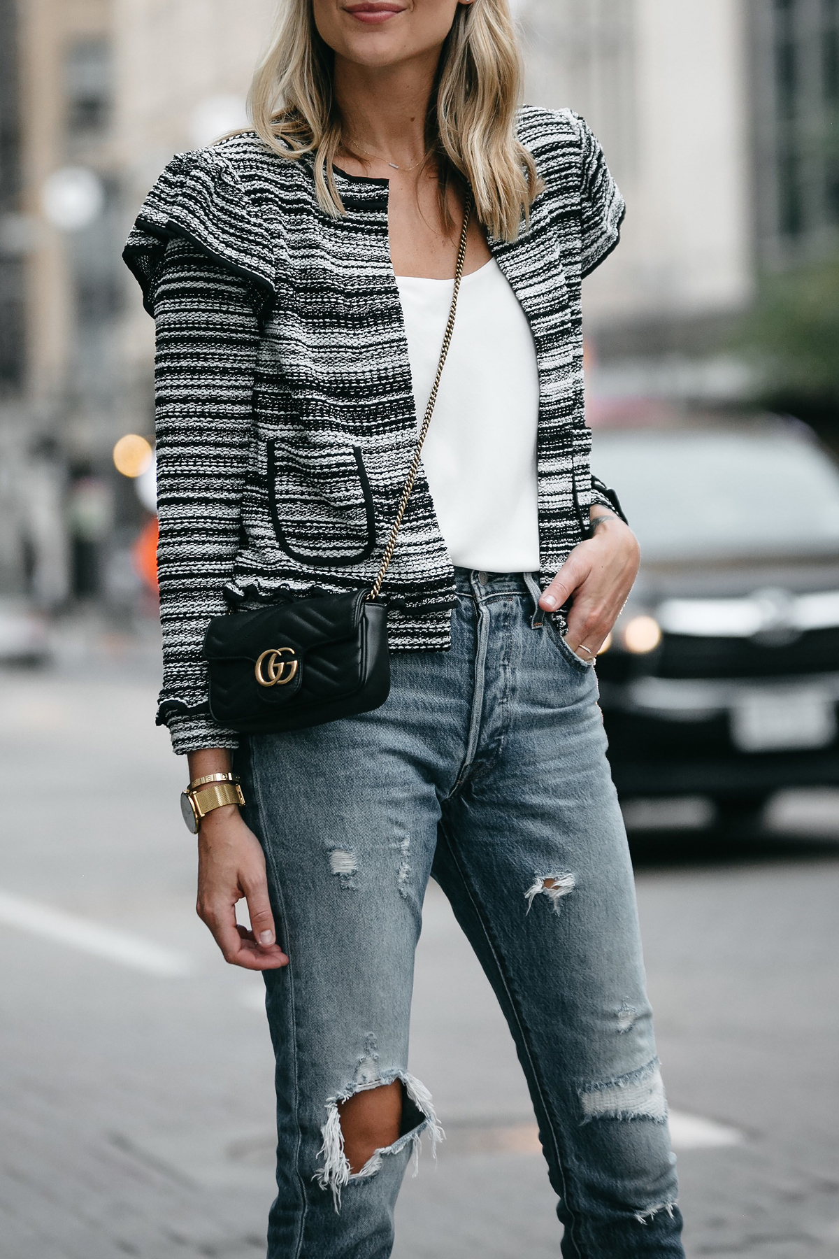 HOW TO STYLE A TWEED JACKET FOR FALL   Fashion Jackson