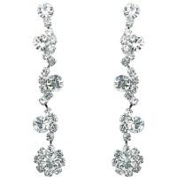 Fashion Wedding Jewellery, Buy Diamante Bib Long Drop ...