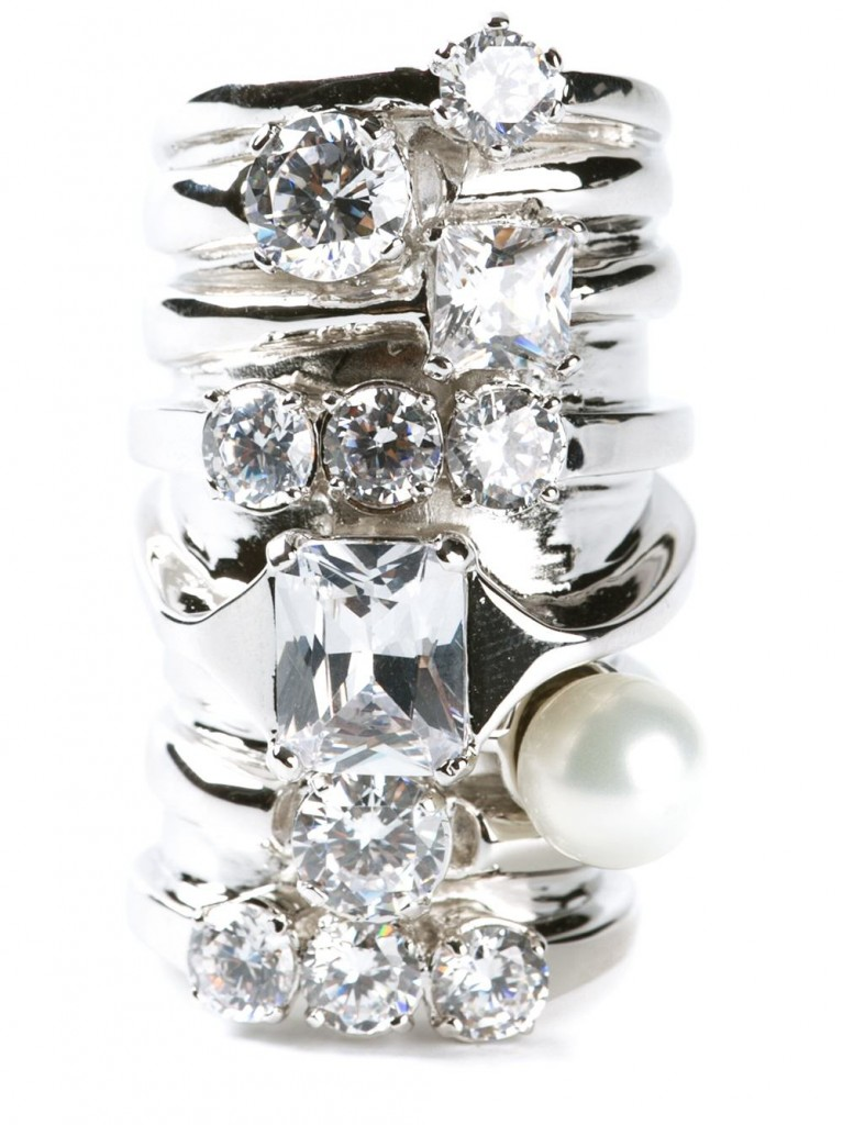 Faux-Stacked Ring