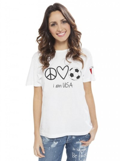 Pick Of The Day: Peace, Love, World Soccer Tees