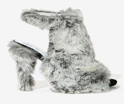 Currently Coveting: Jeffrey Campbell Lorah Faux Fur Heels