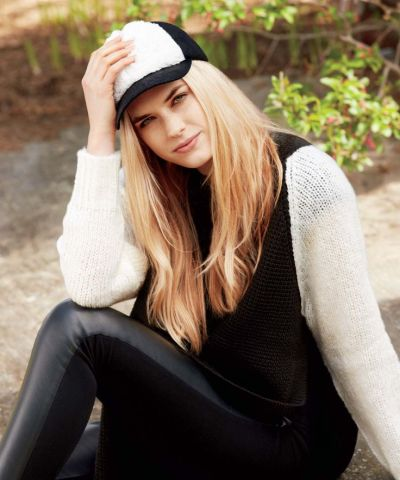 Currently Coveting: Faux Leather & Sherpa Wool Baseball Cap