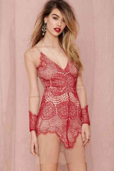 Currently Coveting: For Love and Lemons Antigua Mini Dress
