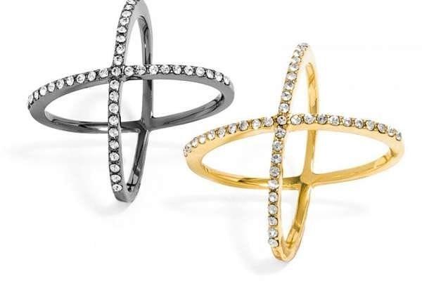 Baublebar Crystal X Rings