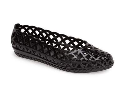 "Currently Coveting: Jeffrey Campbell ""Jelly-Jam"" Slip-On Flat"