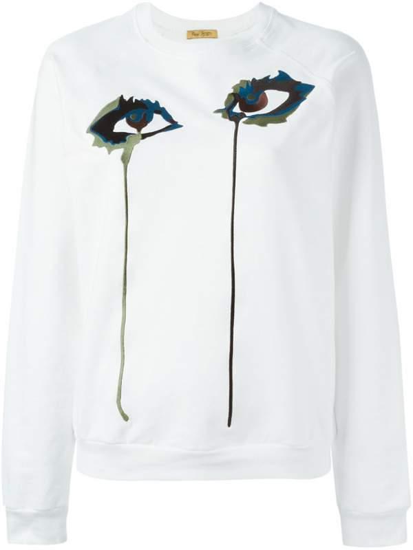 Eye Embroidered Sweatshirt