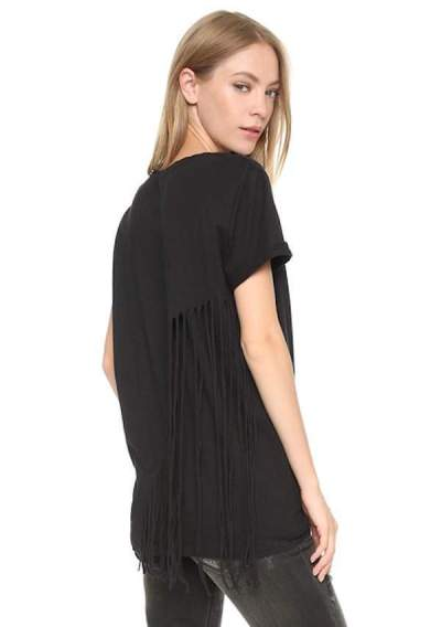 Currently Coveting: RtA Zoe Fringe Tee