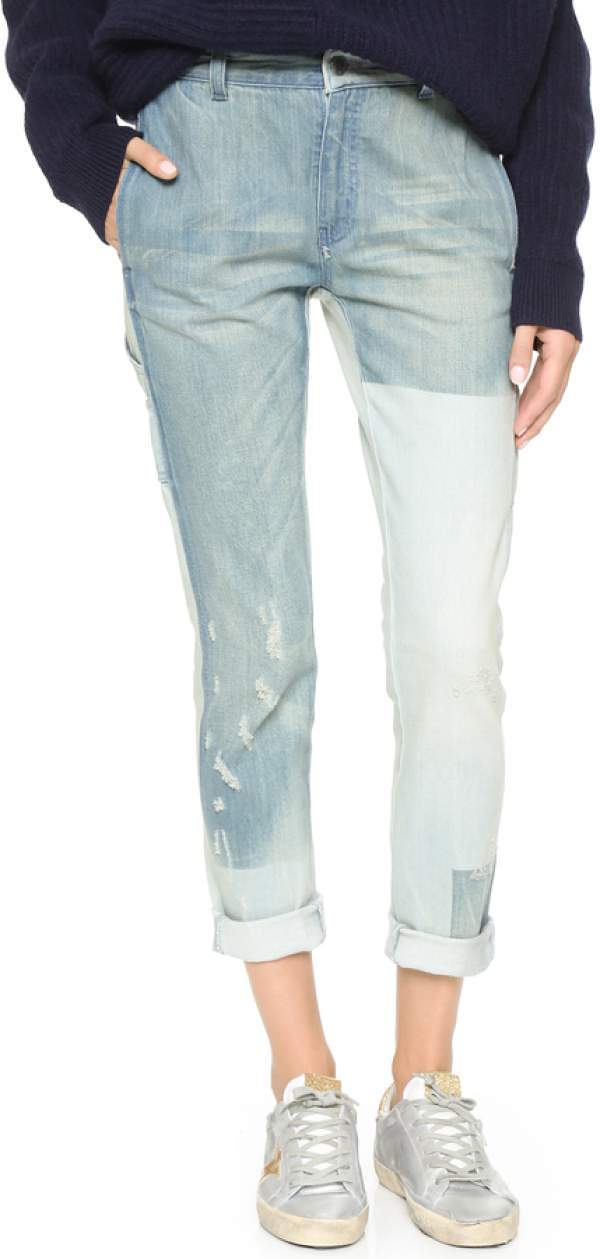 Stella McCartney Patchwork Jeans
