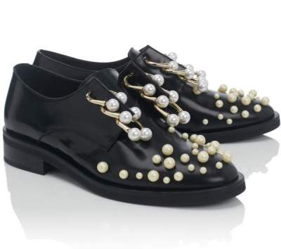 Currently Coveting: Black Pearl Derby Martina Shoes By Coliac
