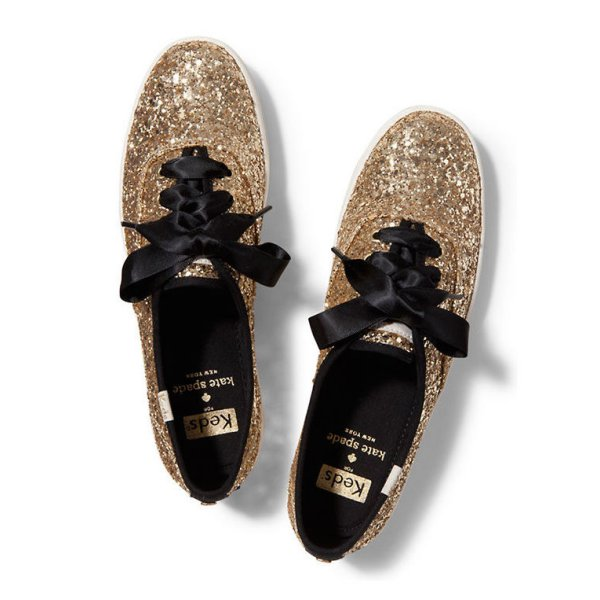 Currently Coveting: Keds X Kate Spade New York Champion Glitter Sneakers