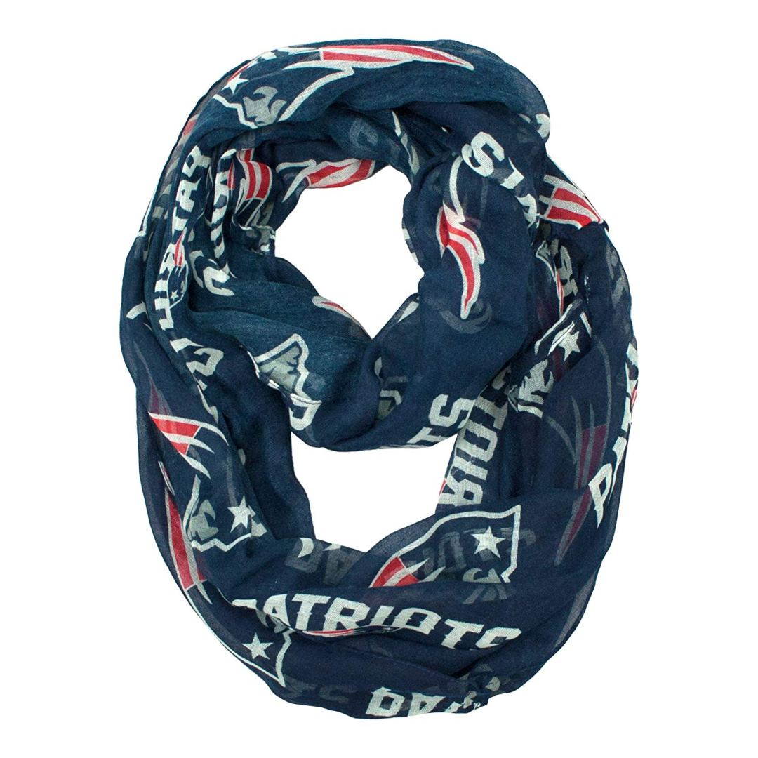 New England Patriots Infinity Scarf