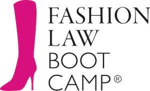 Fashion Law Bootcamp trademarked boot logo