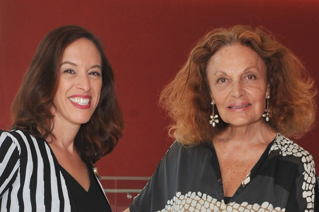 Professor Susan Scafidi and Diane von Furstenberg