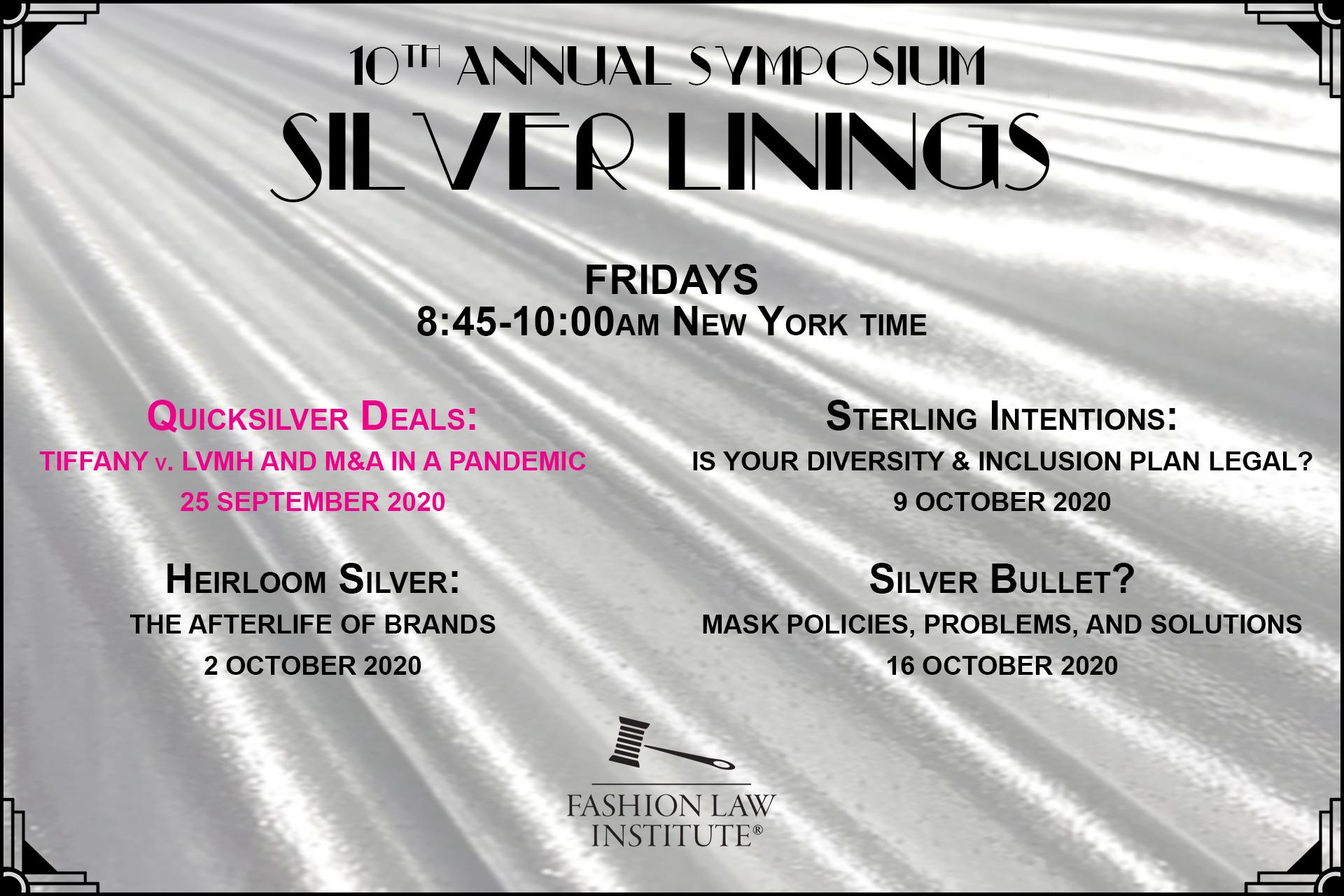 10 annual symposium September 25-October 16, 2020