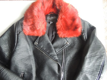 Faux Leather Jacket/ Forever21