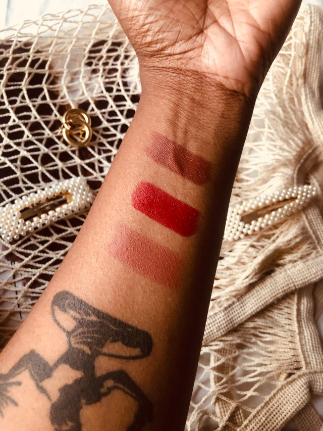 mented cosmetics swatched