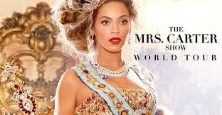beyonce the mrs carter show