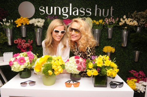 Sunglass Hut Celebrates Mother's Day With Georgia May Jagger & Jerry Hall