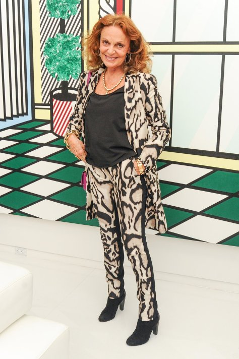 fiercely-dressed-Diane-von-Furstenberg-joined-Lisa-Perry