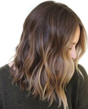 beautiful brown balayage hair