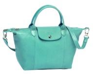 Longchamp%20Le%20Pliage%20Cuir%20Turquoise