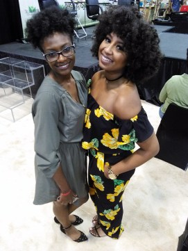 cousin Jasmine and @curlsandcouture