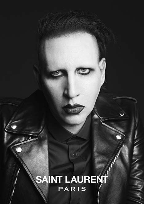 Marilyn Manson Saint Laurent Music Project