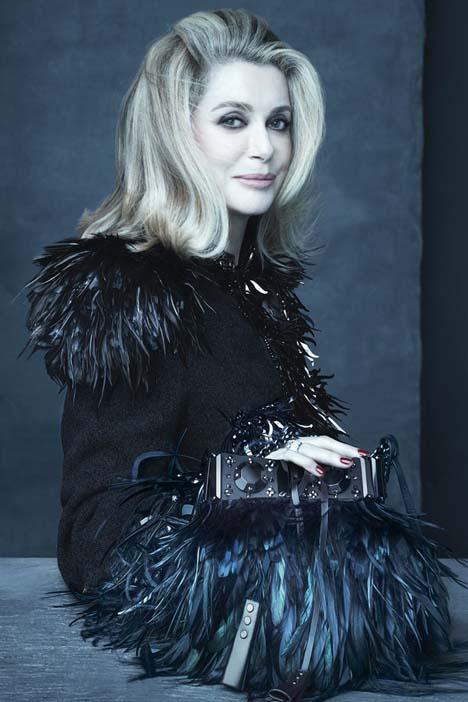 Catherine Deneuve by Steven Meisel for Louis Vuitton