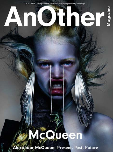 Photography by Nick Knight, styling by Katy England