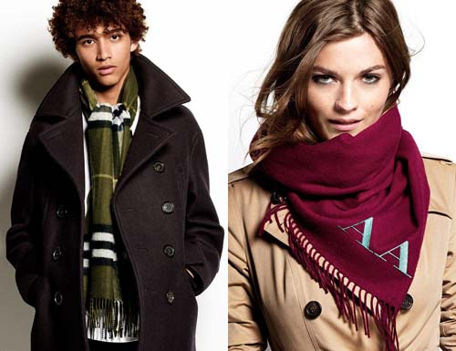 Burberry Scarf Styling