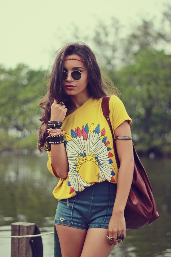 33 hippie style outfit