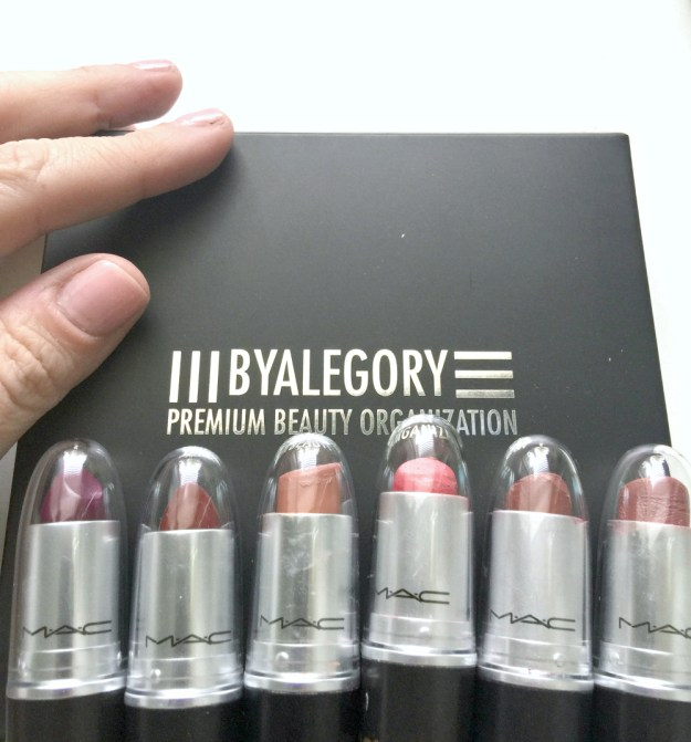 MAC lipstick lids