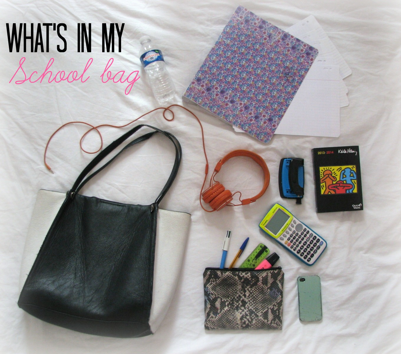 What S In My Schoolbag