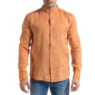 Ανδρικό πορτοκαλί πουκάμισο RNT23
