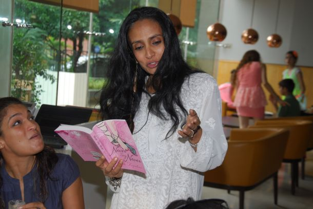 Suchitra Pillai reads an excerpt from 'Never Say Never'