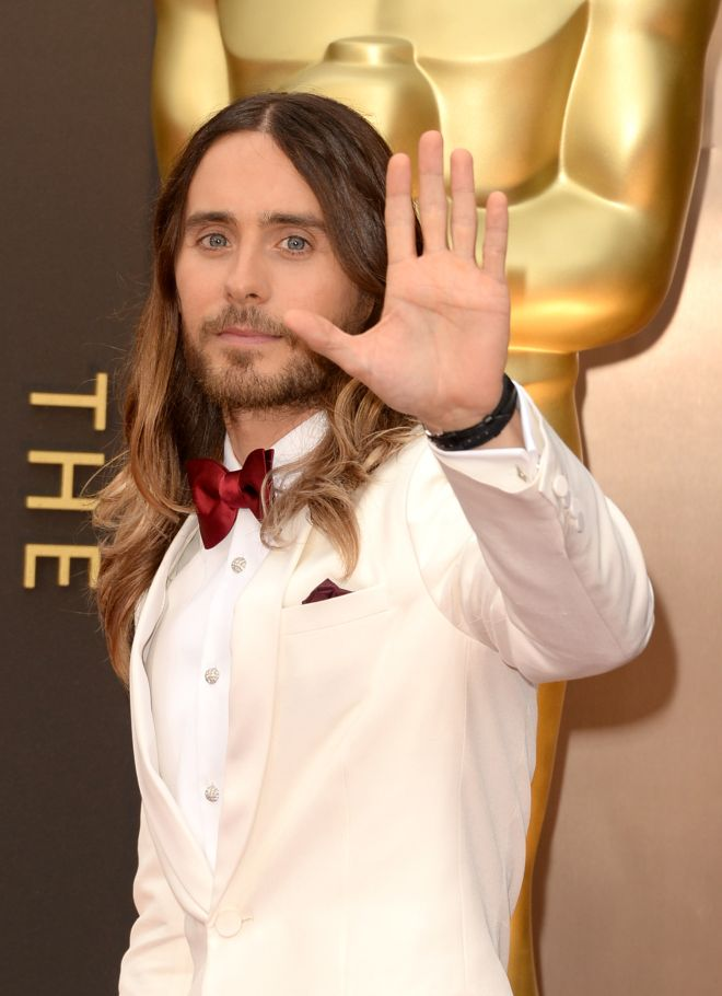 Actor Jared Leto attends the Oscars held at Hollywood  Highland Center